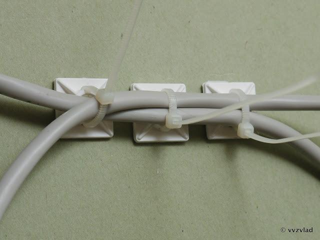 Как закрепить интернет кабель на стене