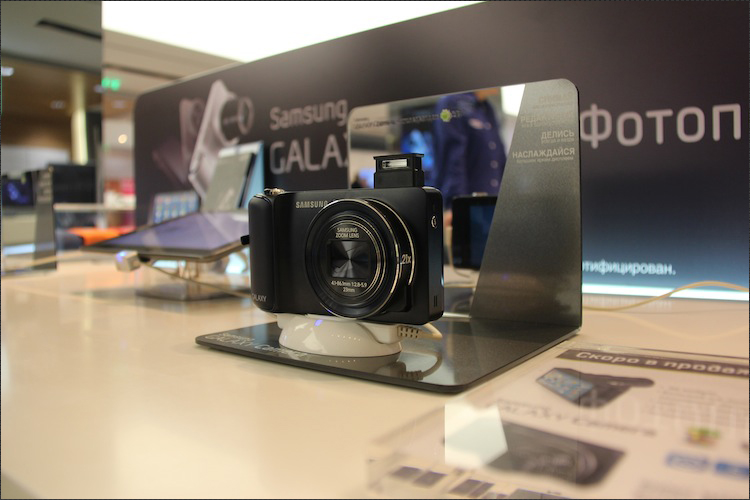 Презентация Samsung GALAXY Camera