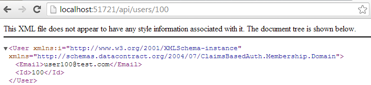 Пример «claims based» авторизации с «xml based» конфигурацией политики доступа