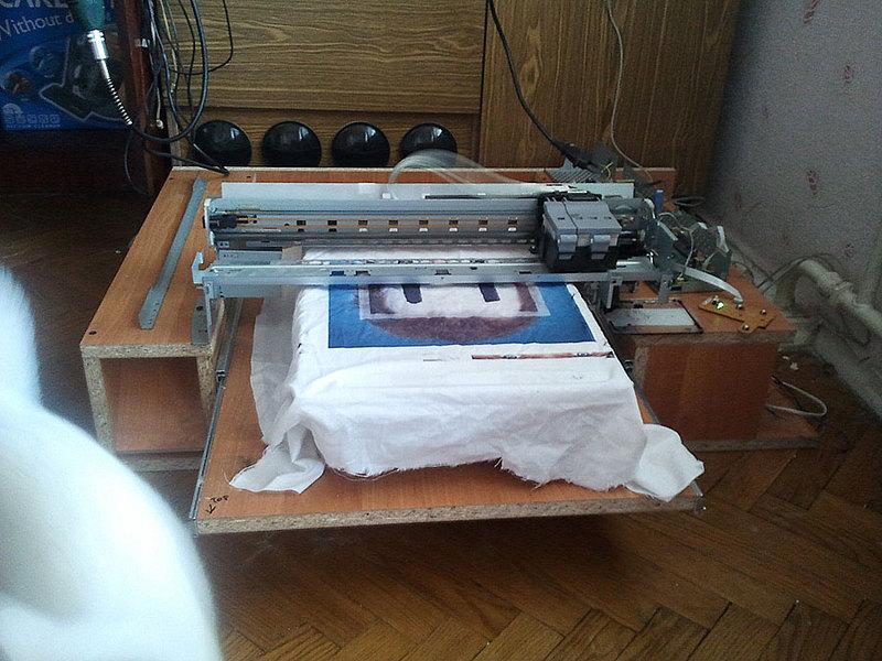 Принтер для печать на футболках своими руками
