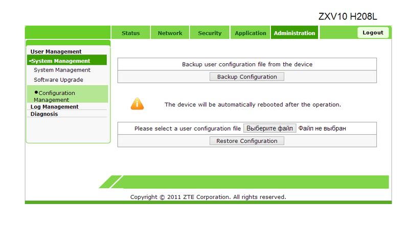 Проблемы безопасности в сетевых устройствах ZTE