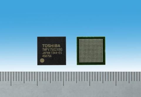 Основой процессора Toshiba TMPV7502XBG служит 32-разрядное ядро CPU RISC MeP