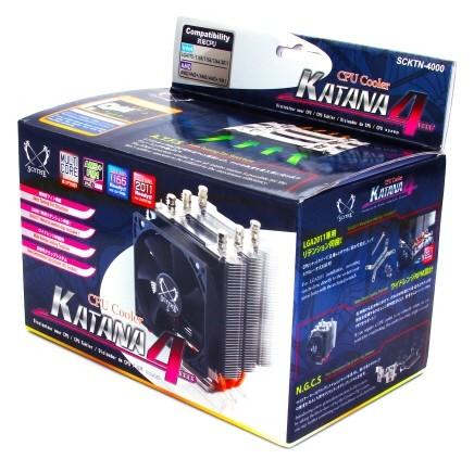 Процессорный кулер Scythe Katana 4