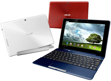 Продажи планшета ASUS Transformer Pad TF300T стартуют в мае