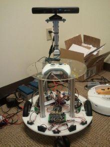 Проект «робот грузчик»: определение собственного местоположения