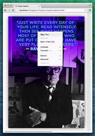 Проект Naptha: применение компьютерного зрения на всех изображениях в браузере
