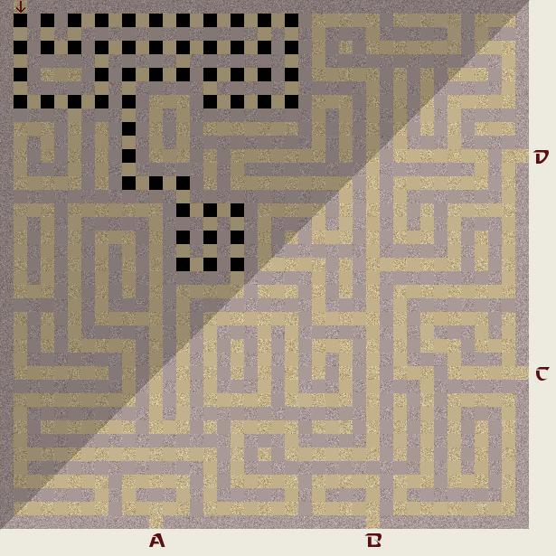 Прохождение капчи «Лабиринт» на Javascript