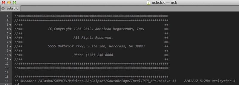 Произошла утечка одного из UEFI ключей компании AMI?