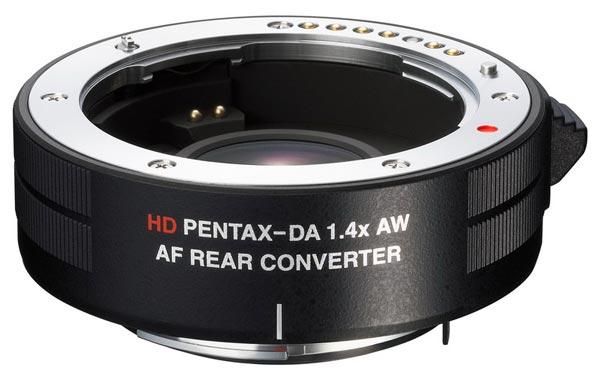 Телеконвертор HD Pentax-DA AF Rear Converter 1.4X AW защищен от непогоды