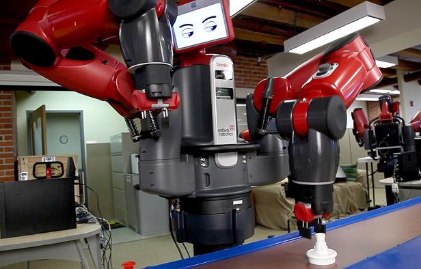 Промышленный робот BAXTER умеет адаптироваться и обучаться