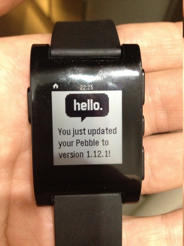 Прошиваем кастомную прошивку с русскими буквами на Pebble Watch без участия компьютера
