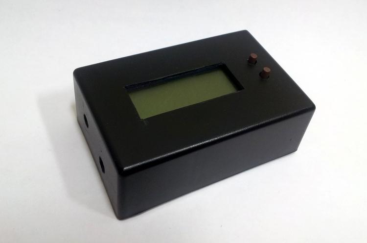 Простое устройство мониторинга энергопотребления