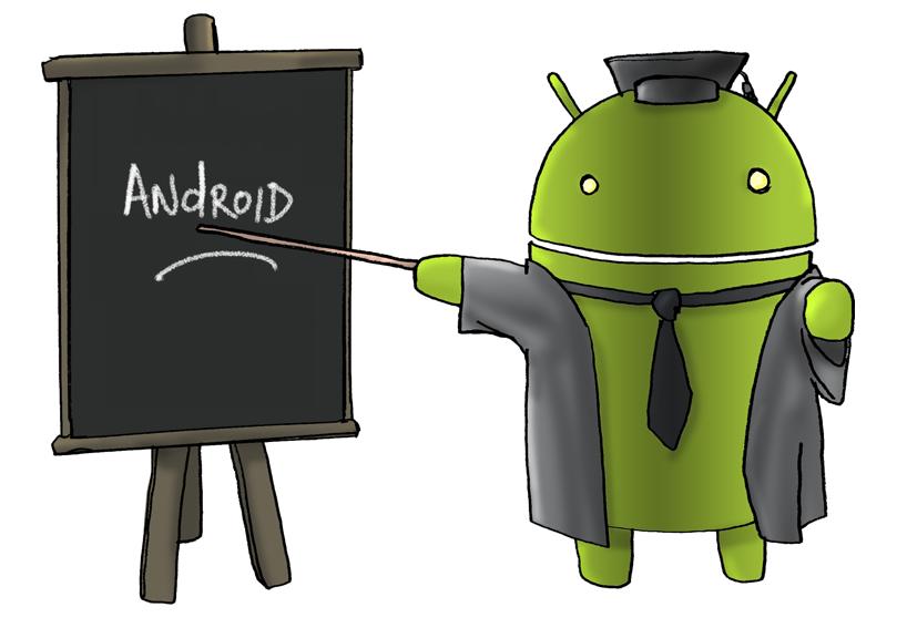 Простой каркас Android приложения