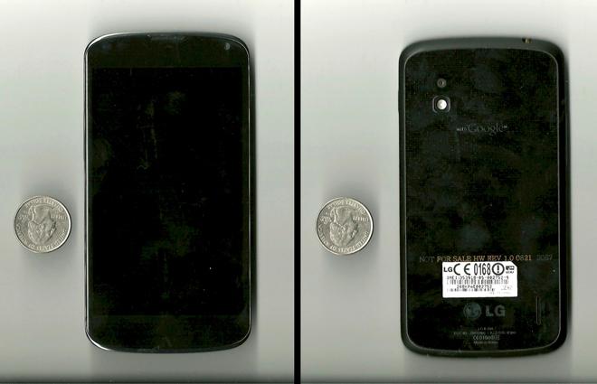 Прототип Google Nexus 4 забыт в баре