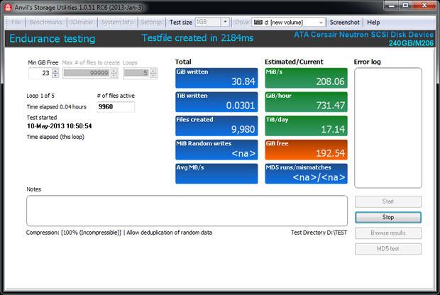 Проверка SSD на выносливость: запись 1 петабайта