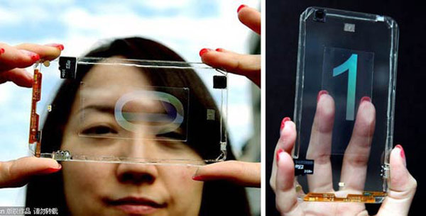 Прозрачные смартфоны могут появиться в продаже уже в этом году
