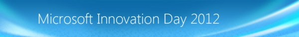 Прямая трансляция Microsoft Innovation Day 2012