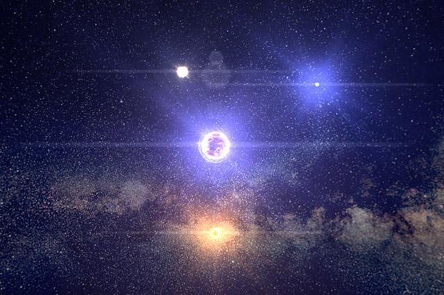 Путешествие по 100000 звездам от Google