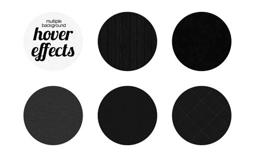 Пять интересных эффектов при наведении с использованием нескольких фоновых изображений