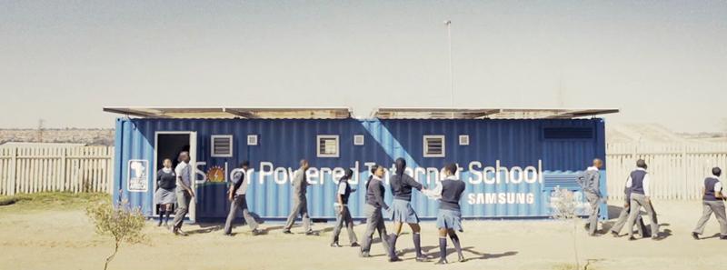 Пятничный пост добра или как Samsung строит Интернет школы на солнечной энергии