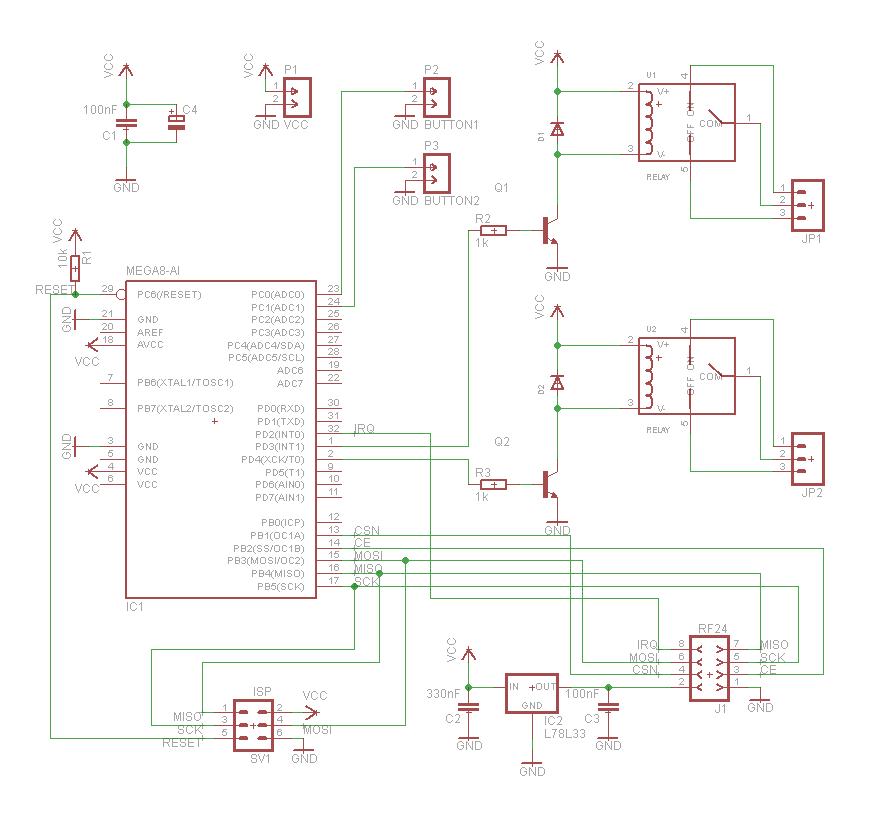Радиоуправляемый выключатель своими руками. Часть 1 — Hardware