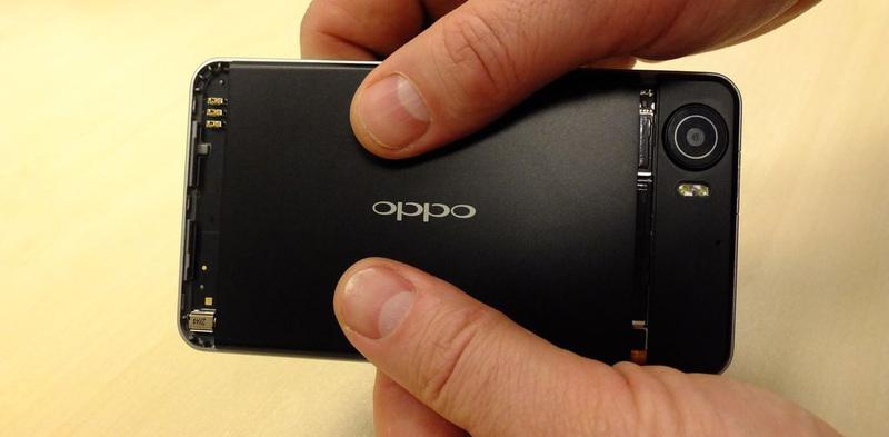 Разбираем смартфон Oppo Finder x907