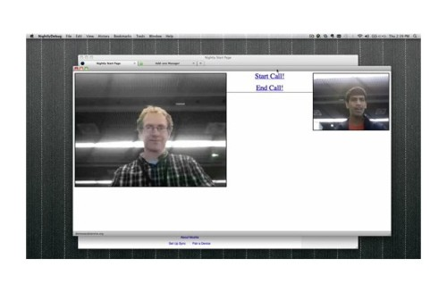 Разработчики Mozilla представили билд Firefox c поддержкой WebRTC и браузерный видеочат