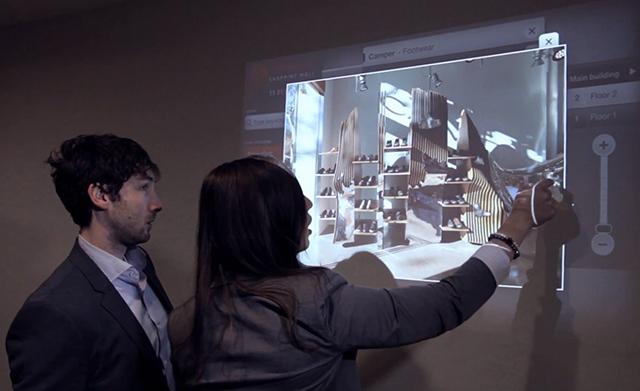Разработка Ubi Interactive и Microsoft превращает любую поверхность в сенсорный дисплей