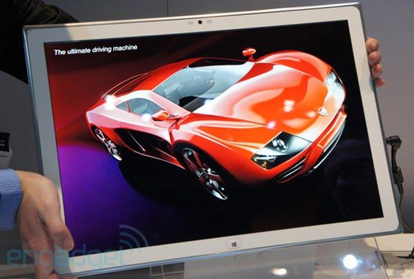 Разрешение 20-дюймового экрана прототипа планшета Panasonic — 3840 х 2560 пикселей