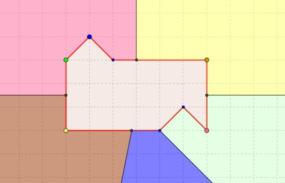Разрезание на две равные части, часть вторая