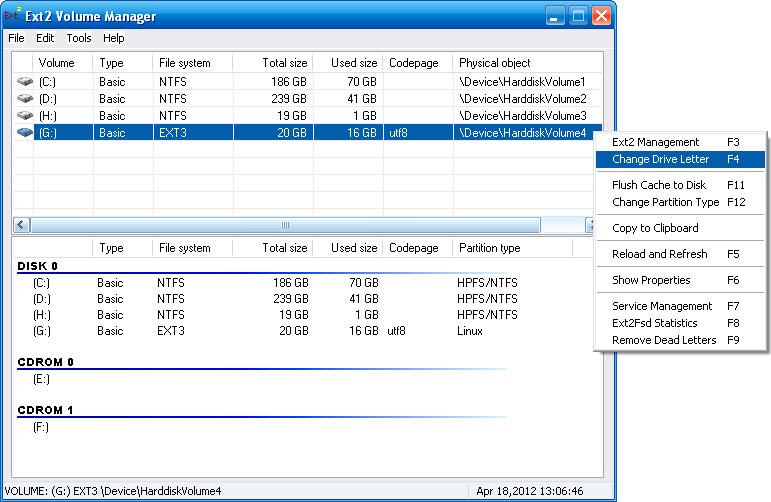 Редактирование GRUB на Ext4 из под Windows