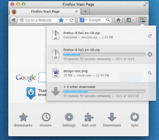 Релиз Firefox 20