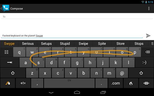 Релиз клавиатуры Swype для Android