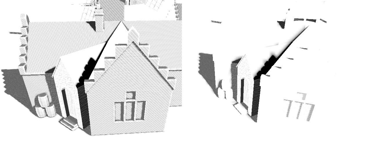 Рендеринг теней при помощи алгоритма Parallel Split Shadow Mapping