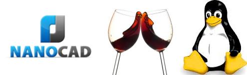Репост совета: запуск nanoCAD free 3.5/3.7 под Linux с помощью Wine