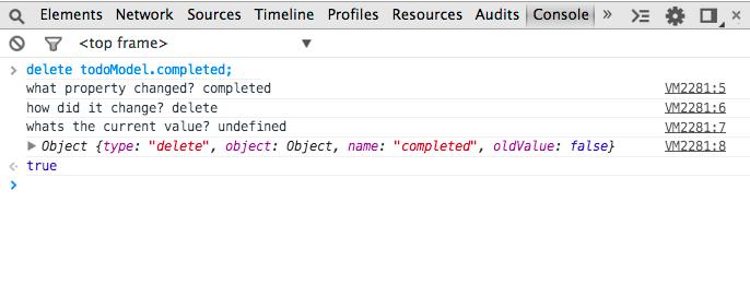 Революция дата байндинга с Object.Observe()