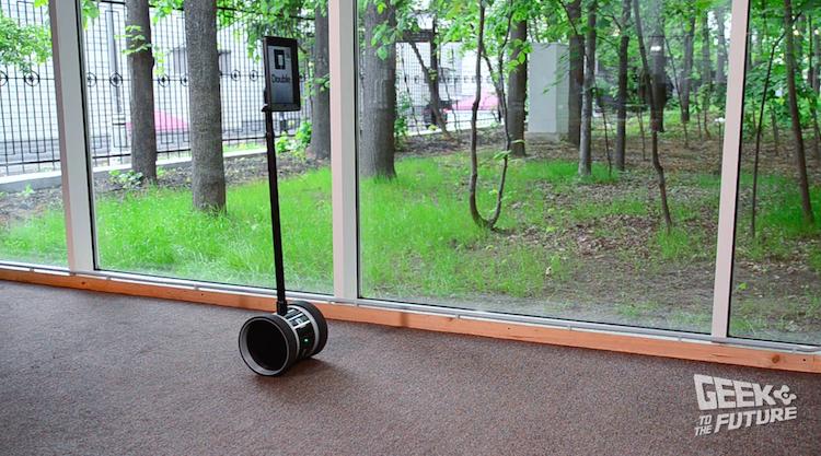 Робот от Double Robotics: протестировано на людях