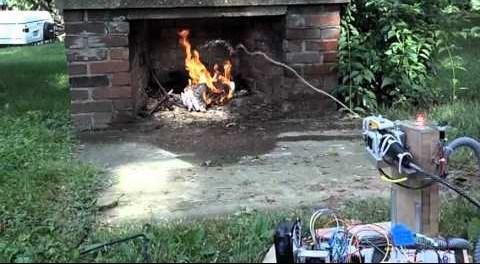 Робот пожарный xFire