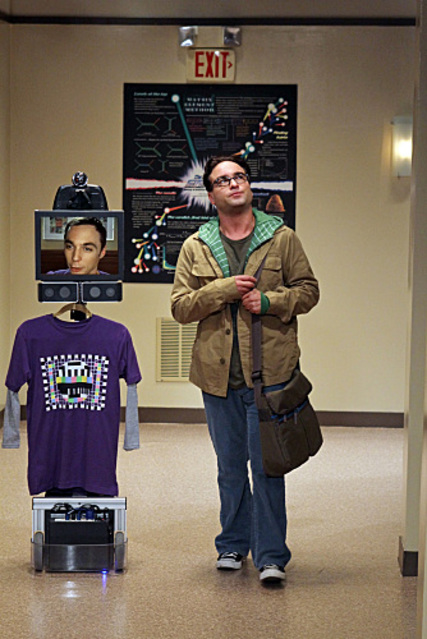 Робот телеприсутствия на базе iPad