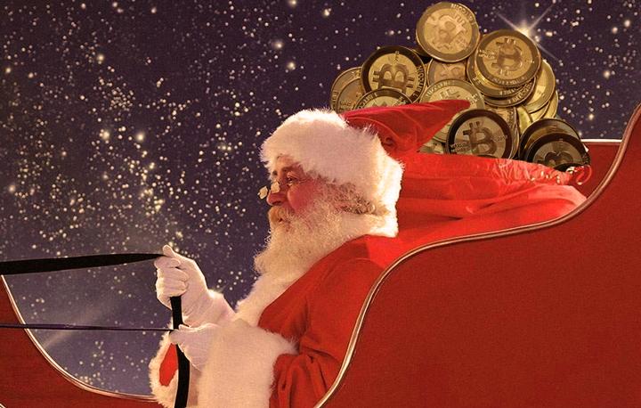 Рождественская история о таинственном Bitcoin Santa