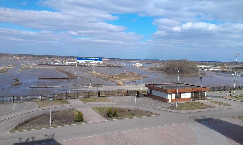 Российский центр программирования в Дубне уходит под воду!