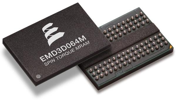 Ознакомительные образцы микросхем Everspin EMD3D064M 64 Mb DDR3 ST-MRAM уже поступают заказчикам
