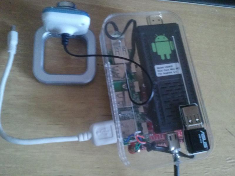 Самодельный бот с камерой и управлением по wifi