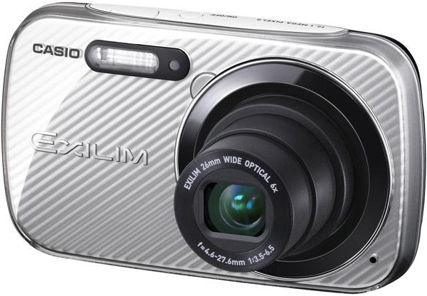 Основой камер Casio Exilim EX-N5 и EX-N50 служит датчик изображения типа CCD формата 1/2,3 дюйма