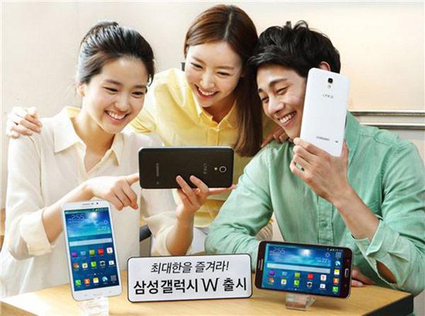 Экран Samsung Galaxy W размером семь дюймов по диагонали имеет непривычно низкое разрешение