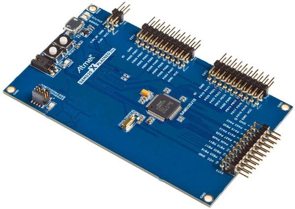 Основой микроконтроллеров Atmel SAM D20 служит ядро ARM Cortex-M0+