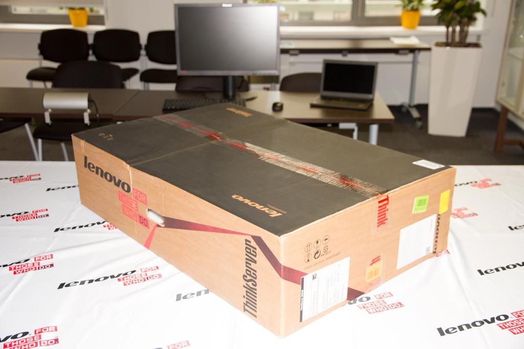Сервер Lenovo ThinkServer RD540 новый корпоративный стандарт