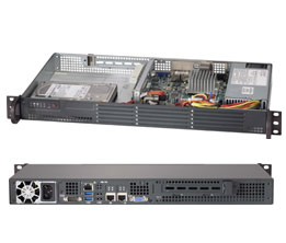 Серверная платформа SuperMicro SYS 5017A EF или виртуализация на атоме (Часть 1)