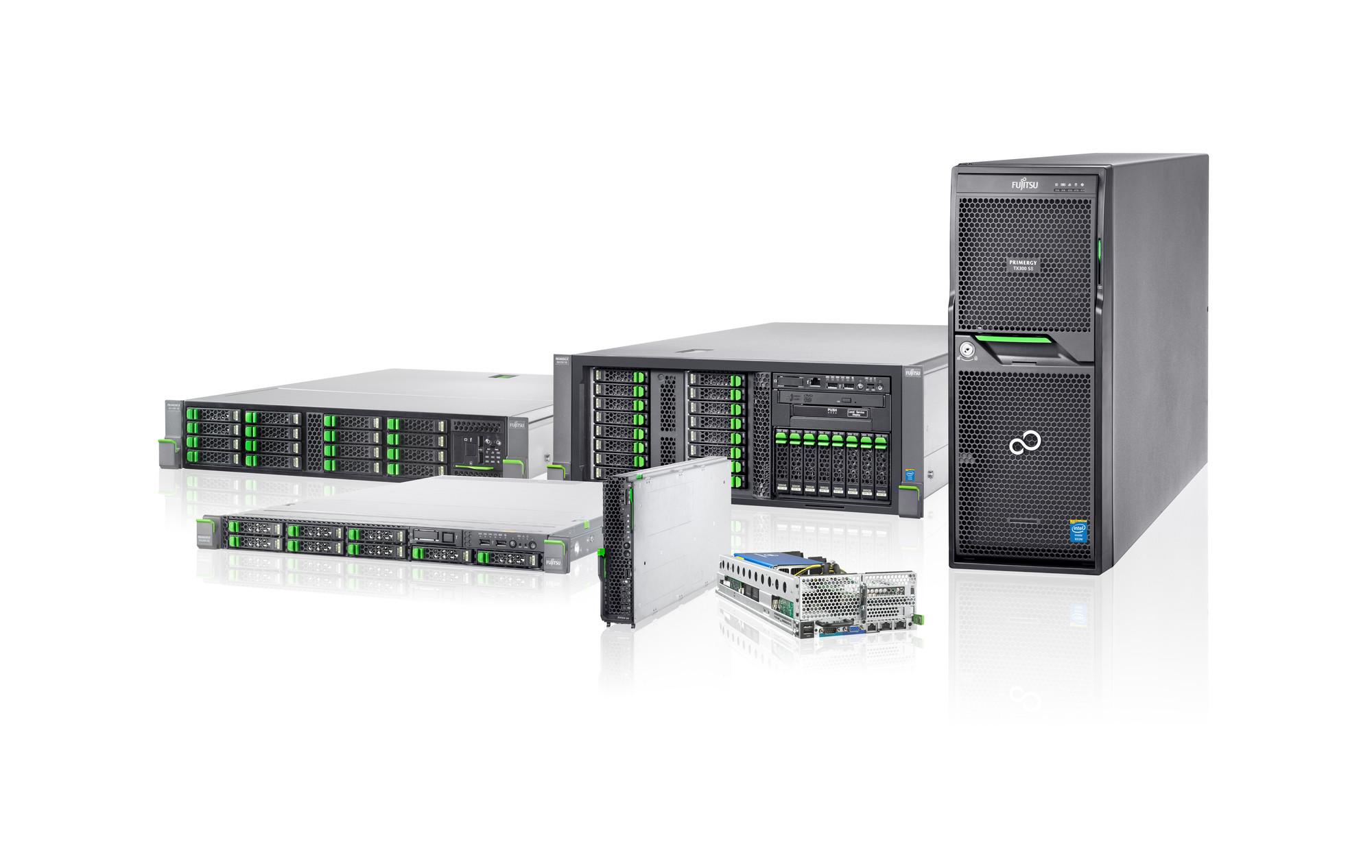Серверы Fujitsu: осеннее обновление