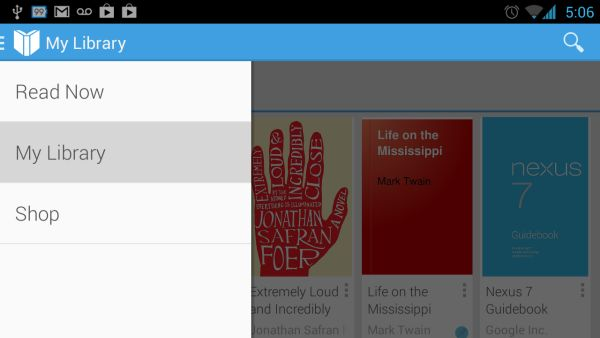 Сервис Google Play Books теперь позволяет пользователю загружать собственные книги